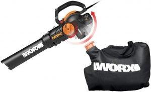 WORX WG512 Trivac 2.0 Electric 12-amp 3-in-1 Vacuum Blower